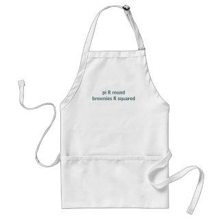 """Delicious """"pi"""" - math apron"""