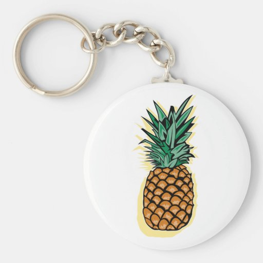 Delicious Pineapple Keychains