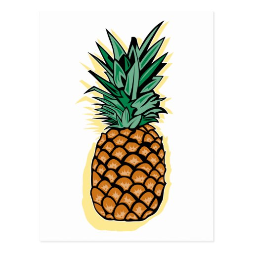 Delicious Pineapple Postcard