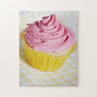 Delicious Pink Cupcake Puzzle
