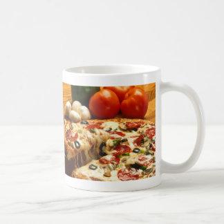 Delicious Pizza Classic White Coffee Mug