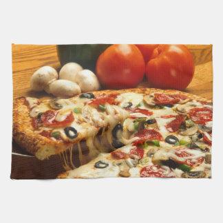 Delicious Pizza Hand Towel