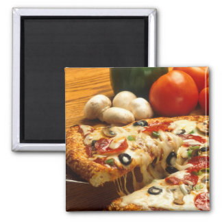 Delicious Pizza Magnet