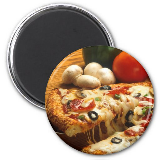 Delicious Pizza Magnets
