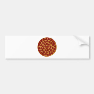 Delicious Pizza Pie Bumper Sticker