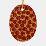 Delicious Pizza Pie Ornament