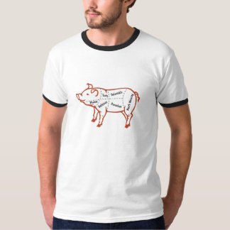 Delicious Pork Chart T-shirts