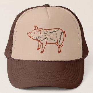 Delicious Pork Chart Trucker Hat