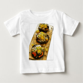 Delicious Potato stuffed with Grilled Veggies Baby T-Shirt