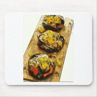 Delicious Potato stuffed with Grilled Veggies Mousepad