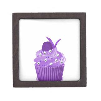 Delicious Purple Cupcakes Jewelry Box