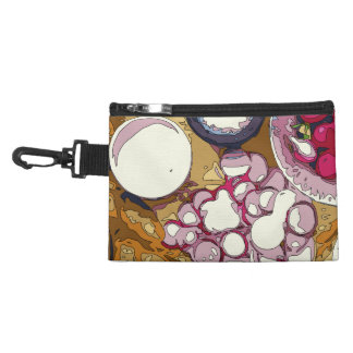 Delicious Radishes and Baguette Vegetables Accessories Bag