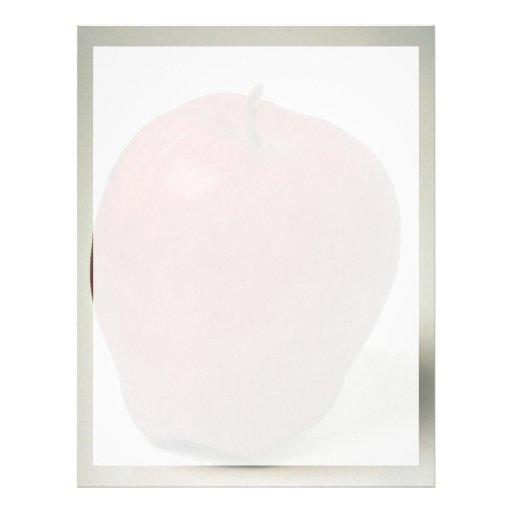 Delicious Red Delicious apple Letterhead