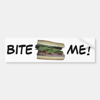 Delicious Sandwich! Bite me! Bumper Sticker