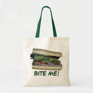Delicious Sandwich! Bite me! Canvas Bags