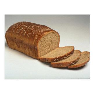 Delicious Sliced wheat bread Postcard