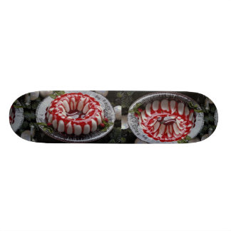 Delicious Southwestern brunch dessert Custom Skateboard