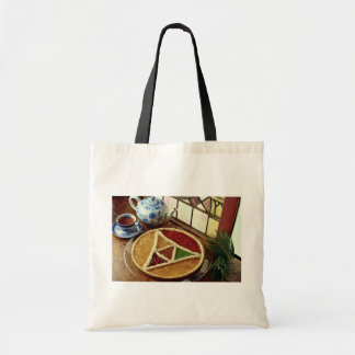 Delicious Stained glass jam tart Canvas Bag