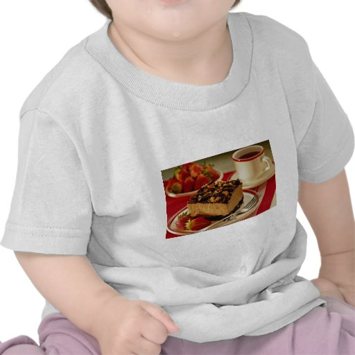 Delicious Strawberries and cake Tees