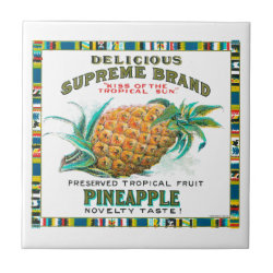 Delicious Supreme Pineapple Preserved Tropical Fru