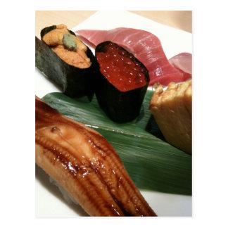 Delicious Sushi Postcard