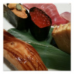Delicious Sushi. Posters