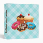 Delicious sweet recipes binder