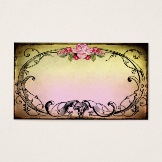 Delicious sweet vintage style business card zazzle for Business cards vintage style