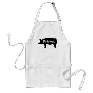 Delicious Swine Adult Apron