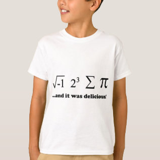 Delicious T-shirt at Zazzle