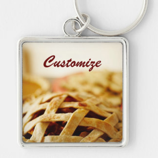 Delicious Thanksgiving Baked Pie Keychain