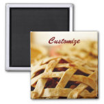 Delicious Thanksgiving Baked Pie Refrigerator Magnet