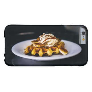 Delicious thick waffle for breakfast barely there iPhone 6 case