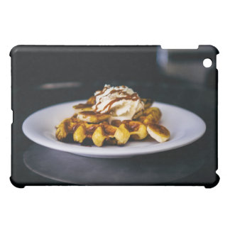 Delicious thick waffle for breakfast case for the iPad mini