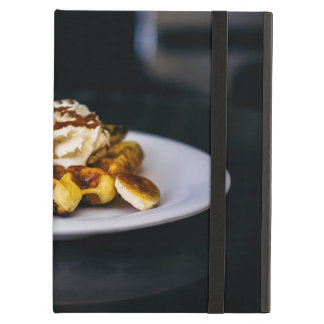 Delicious thick waffle for breakfast cover for iPad air
