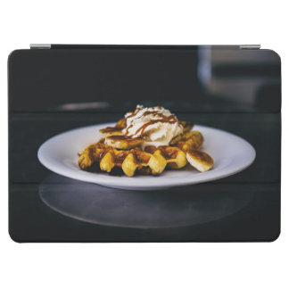 Delicious thick waffle for breakfast iPad air cover