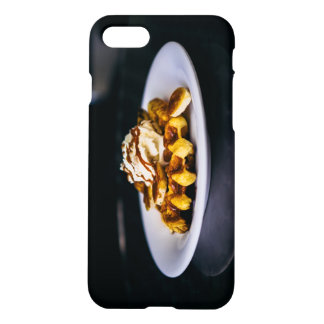 Delicious thick waffle for breakfast iPhone 8/7 case