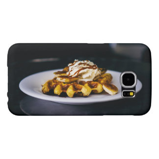 Delicious thick waffle for breakfast samsung galaxy s6 case