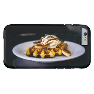 Delicious thick waffle for breakfast tough iPhone 6 case