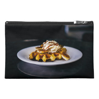 Delicious thick waffle for breakfast travel accessory bag