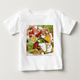 Delicious Tomato, Avocado and feta cheese salad Baby T-Shirt