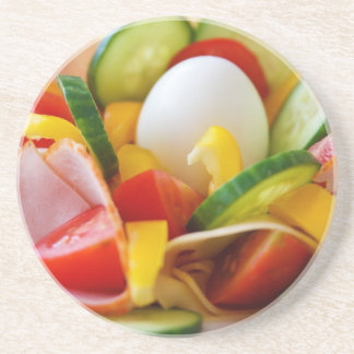 Delicious Vegetables Salad Food Picture Coaster