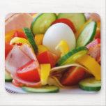 Delicious Vegetables Salad Food Picture Mousepad