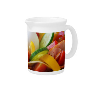 Delicious Vegetables Salad Food Picture Pitchers