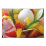 Delicious Vegetables Salad Food Picture Placemats