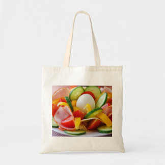 Delicious Vegetables Salad Food Picture Tote Bag