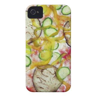 Delicious vegetarian pizza iPhone 4 Case-Mate case