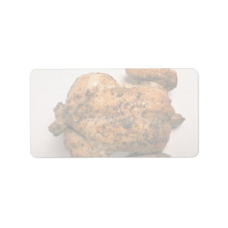 Delicious Whole roasted chicken Address Label