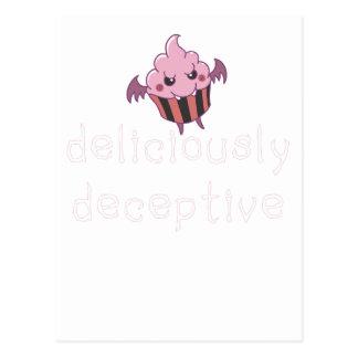deliciously deceptive postcard