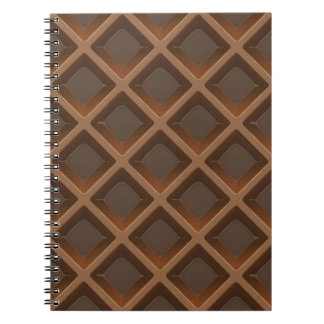 Deliciously Yummie Soooo Good Chocolate Wafer Spiral Notebook